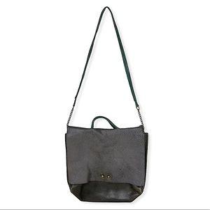 Jo Leather Bohemian Messenger Flap Shoulder Bag